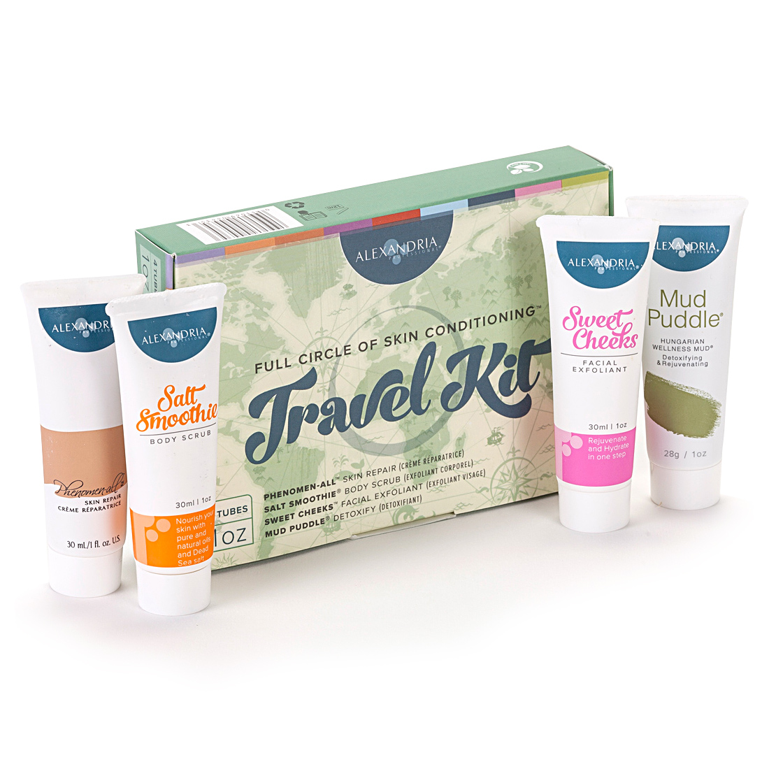 Full Circle Travel Kit - Alexandria Professional® 3dc5e974939