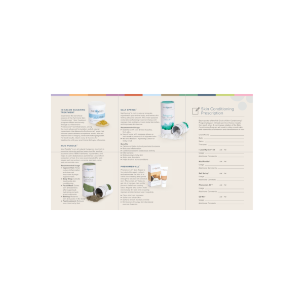 Full Circle of Skin Conditioning® Brochures